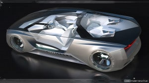 Auch zukünftige Designkonzepte zahlen auf Innovation ein. Quelle: www.audi-mediacenter.com