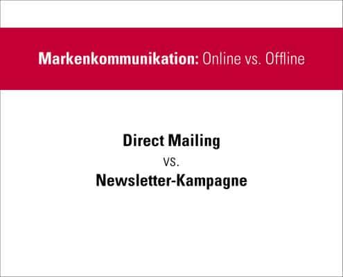 DirectMailingVSNewsletter