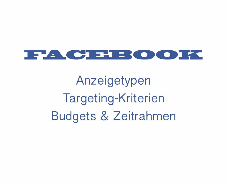 Erfolgreich mit der Marke auf Facebook werben
