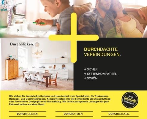 Fränkische Haustechnik Fachanzeige