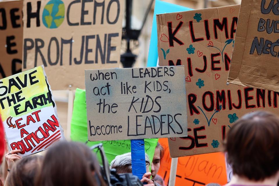 Friday for Future Demonstration. Grund für unsere Markenstudie Nachhaltigkeit