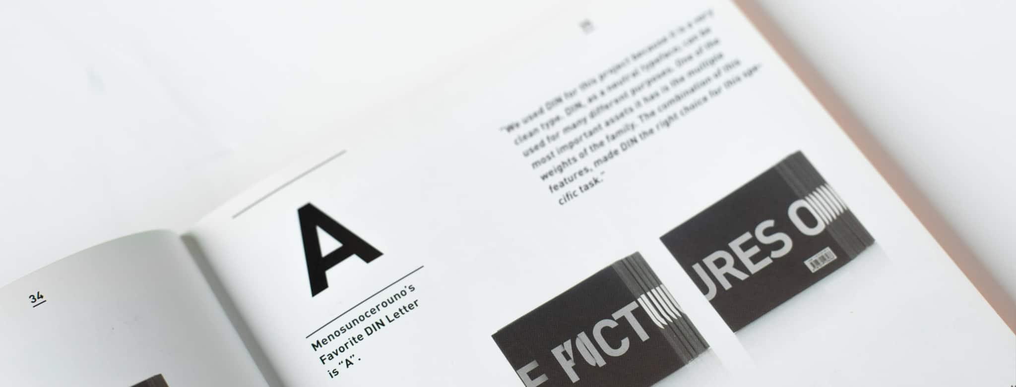 Magazin Typografie